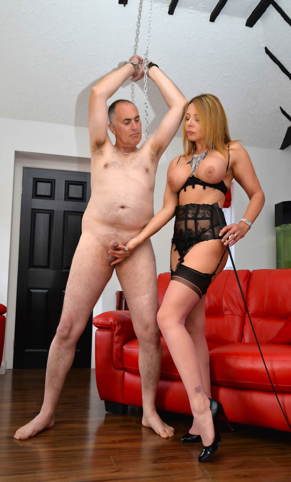 Ball Busting with Mistress Carly. UK Dominatrix located in Ashford, Kent.