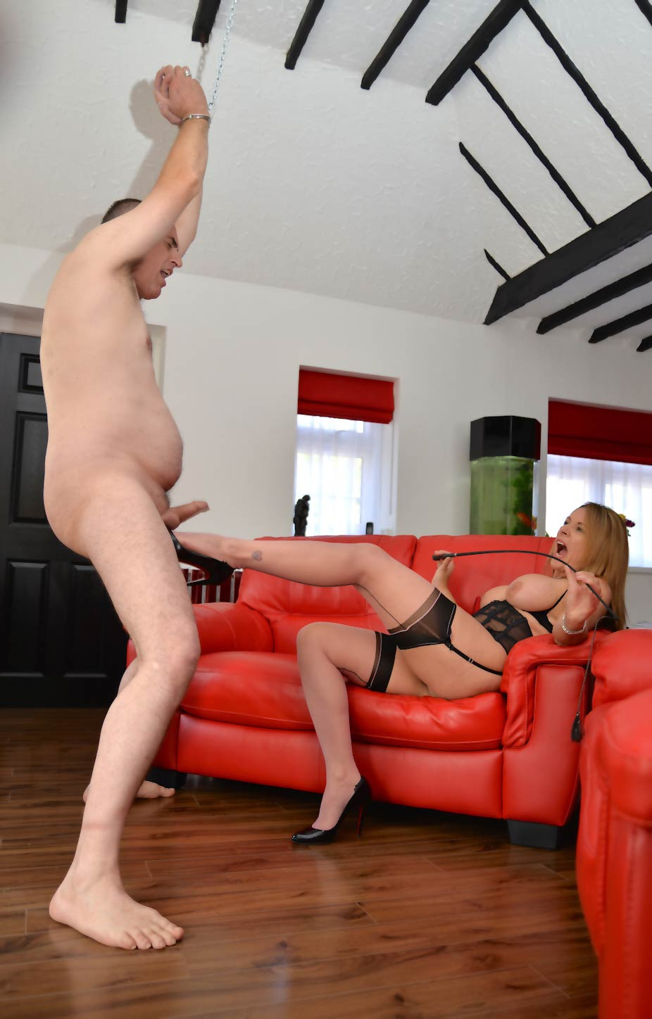 Mistress Carly UK Dominatrix | Cock and Ball Torture