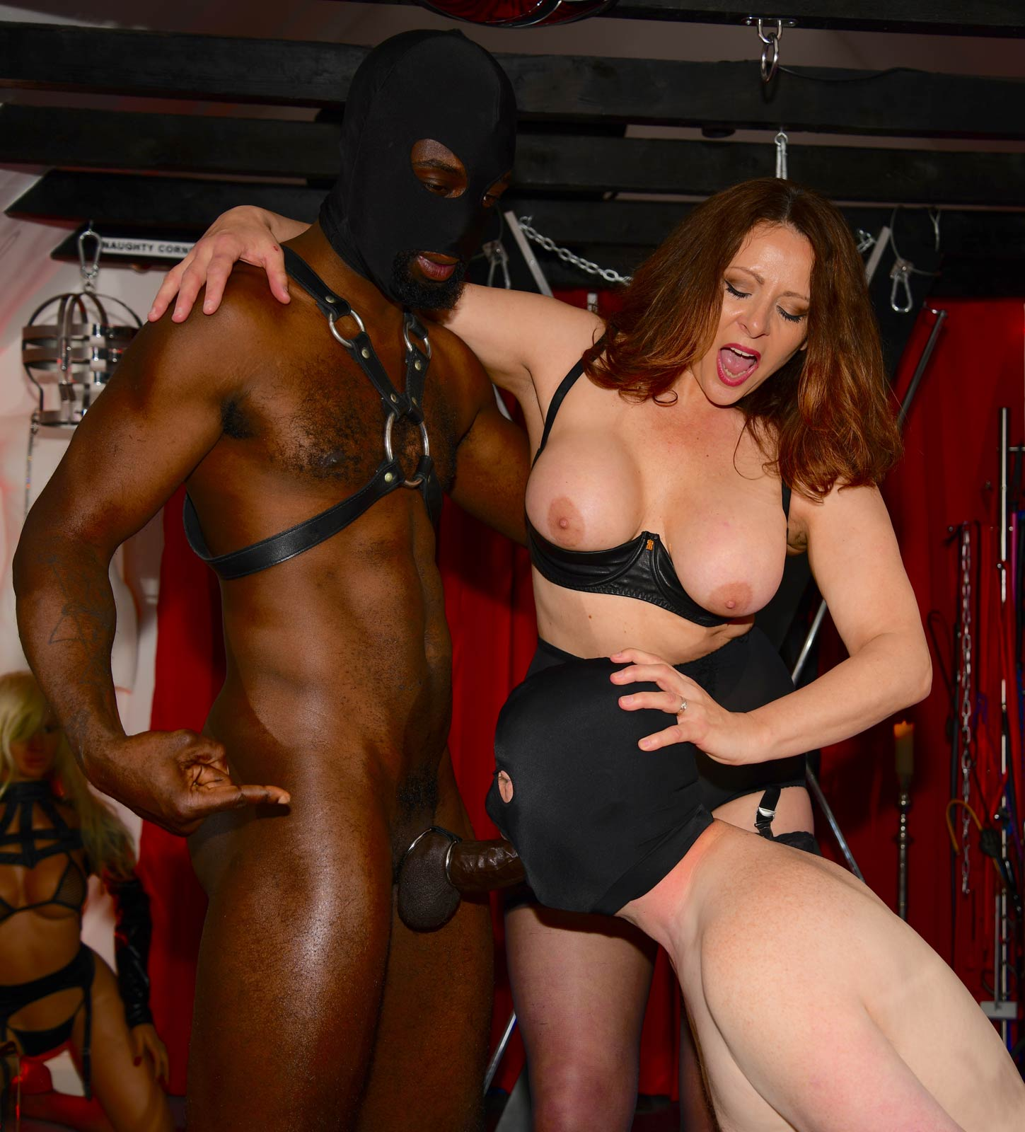Become a Cuckold or be forced into bi-sexual acts with Mistress Carly