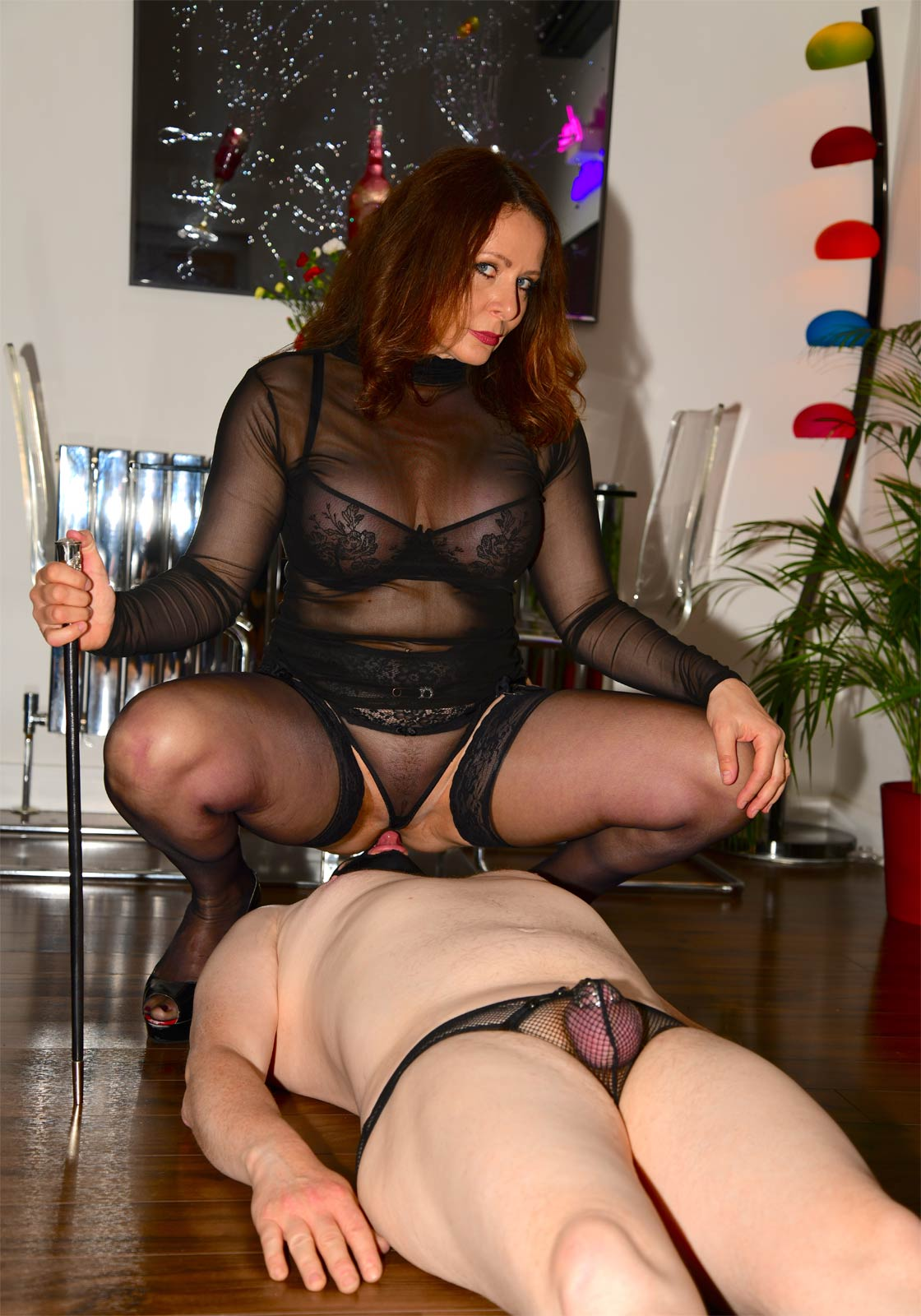 Want to be feminised? Book a session with Mistress Carly